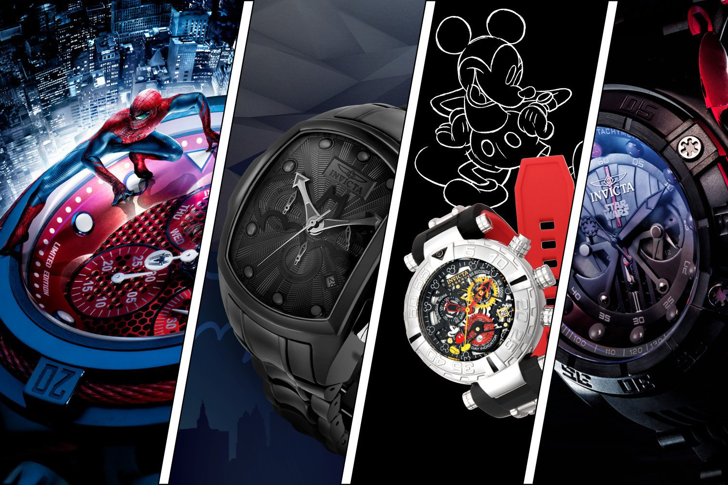 Invicta Watch Banner