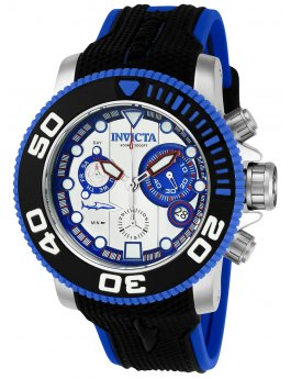 Invicta Sea Hunter 22126 Herenhorloge - 50mm