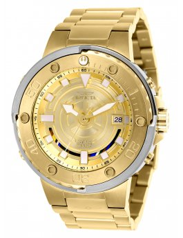 Invicta Star Wars - C-3PO 26114 Herenhorloge - 49mm