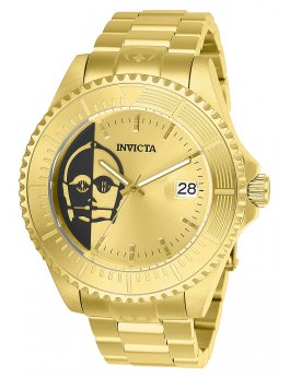 Invicta Star Wars  - C-3PO 26166 Herenhorloge - 47mm