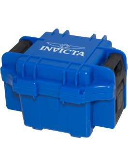Invicta Gift Packaging Blue - 1 Slot DC1BLU/BLK