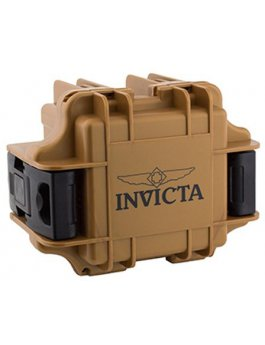 Invicta Gift Packaging Brown - 1 Slot DC1BRN/BLK