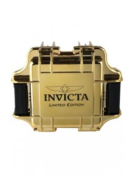 Invicta Gift Packaging Gold - 1 Slot DC1GDMIR/BLK