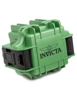 Invicta Gift Packaging Green - 1 Slot DC1LTGRN/BLK
