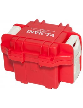 Invicta Gift Packaging Red - 1 Slot DC1RED/WHT