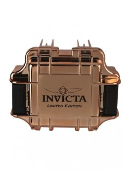 Invicta Gift Packaging Rose Gold - 1 Slot DC1RGMIR/BLK