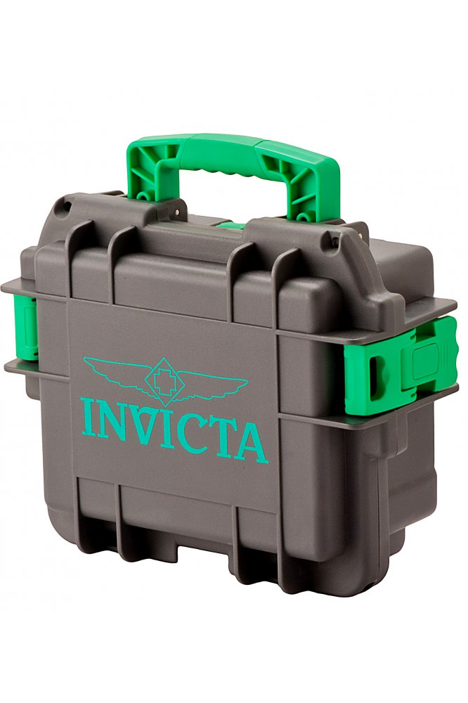 Invicta Horlogebox Grijs - 3 Slot DC3GREY/GRN