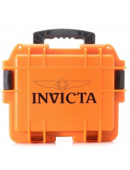 Invicta Watch Box Orange Glow - 3 Slot DC3ORG/GLOW