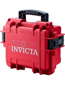 Invicta Watch Box Red - 3 Slot DC3RED
