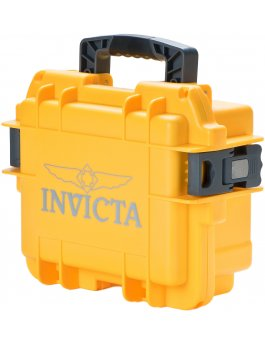 Invicta Watch Box Yellow - 3 Slot DC3YEL