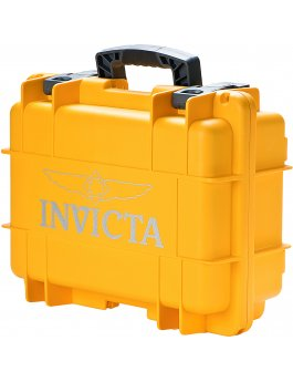 Invicta Watch Box Yellow - 8 Slot DC8YEL