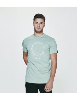 Time Flies T-shirt The Big Bezel - Slim Fit Green