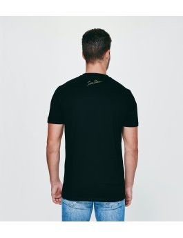 Time Flies T-shirt The Big Hand - Slim Fit Black