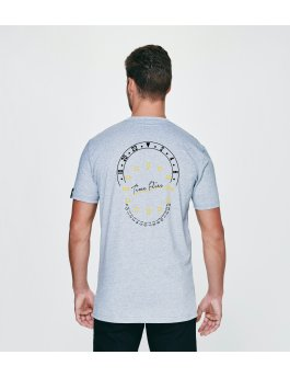 Time Flies T-shirt The Combination of Parts - Slim Fit Grey
