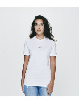 Time Flies T-shirt The Time Explosion - Slim Fit White