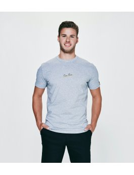 Time Flies T-shirt The Time Explosion - Slim Fit Grey