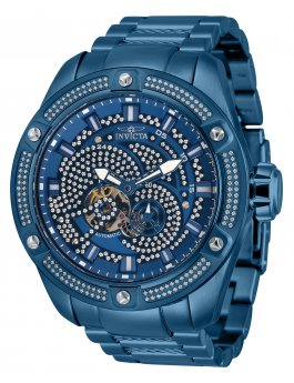 Invicta Bolt 34621 automatisch Herenhorloge - 52mm - Met 156 diamanten