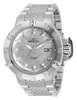Invicta Subaqua - Noma III 33608 Montre Homme  - 50mm - Avec 12 diamants
