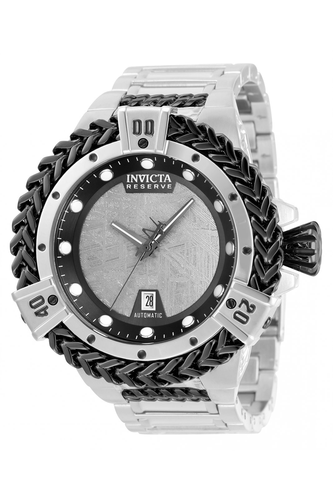 Invicta Reserve - Hercules 34320 Men's automatic Watch - 53mm - Meteorite Dial