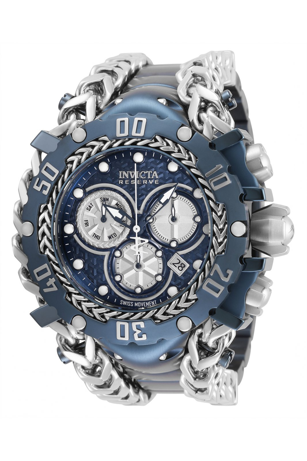 Invicta Reserve - Gladiator 34438 Montre Homme  - 55.25mm