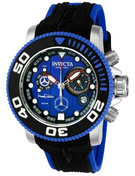 Invicta Sea Hunter 22125 Herenhorloge - 50mm