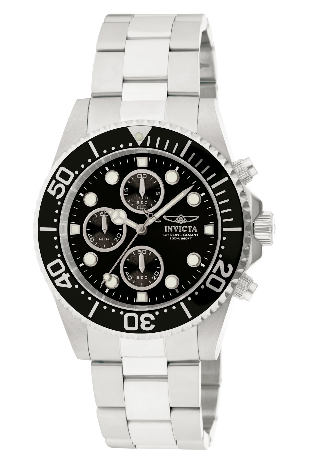 Invicta Pro Diver 1768 quartz Herenhorloge - 43mm