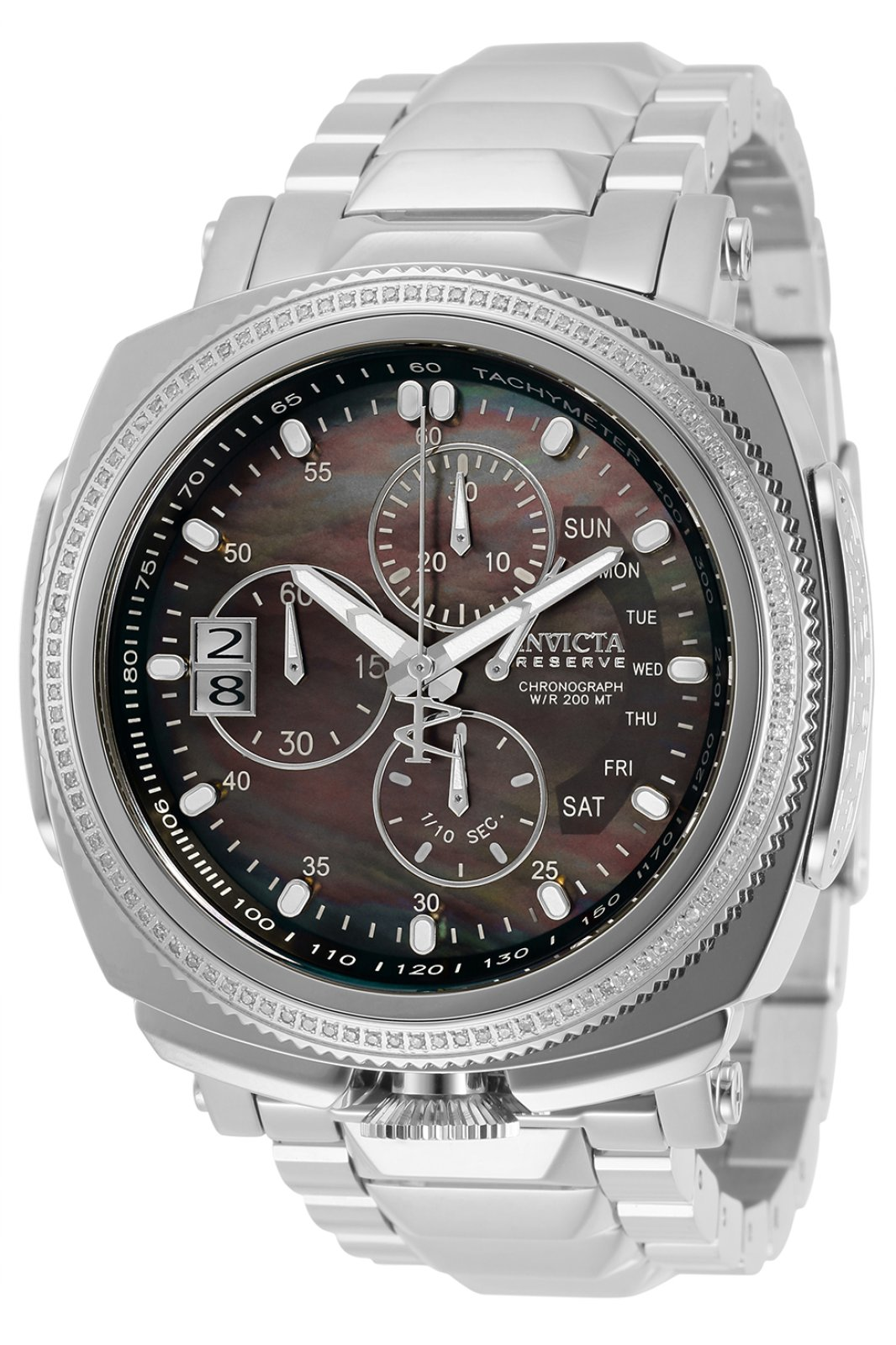 Invicta Reserve - Russian Diver 30996 Men's Quartz Watch - 52mm - With 104 diamonds