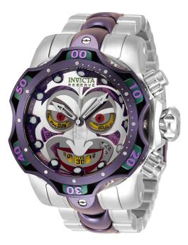 Invicta DC Comics - Joker 33810 Herenhorloge - 52.5mm
