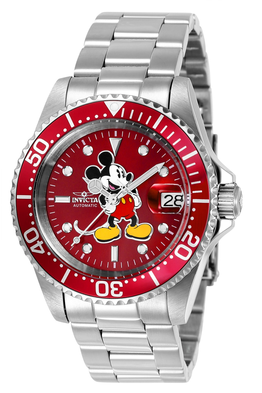 Invicta Disney - Mickey Mouse 24609 Relógio  Automatico  - 40mm